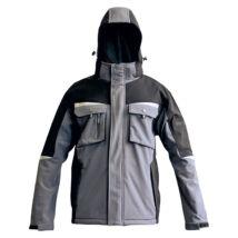 ALLYN Softshell dzseki szürke/fekete - XS