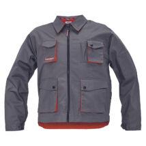 DESMAN kabát szürke/narancs - 48