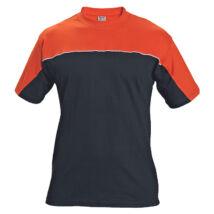 EMERTON póló fekete/narancssárga - S