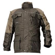 STANMORE téli kabát sötétbarna - XL