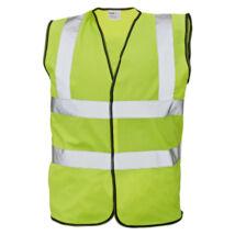 Cerva LYNX PLUS mellény fluo sárga - M