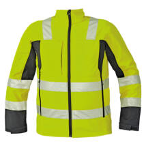 Cerva MALTON Softshell kabát fluo sárga - S