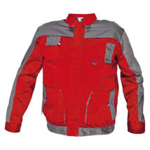 Cerva MAX EVO kabát piros/szürke - 46