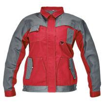 Cerva MAX EVO LADY kabát piros/szürke - 34