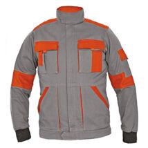 Cerva MAX LADY női kabát szürke/narancs - 34