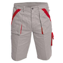 Cerva MAX rövidnadrág szürke/piros - 48