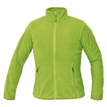 Cerva GOMTI női polár pulóver zöldcitrom - XS