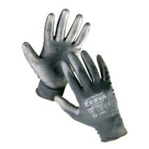 Cerva BUNTING Black kesztyű nylon PU - XS