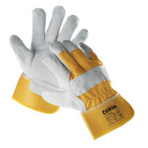 Cerva EIDER kombinált védőkesztyű sárga - 10