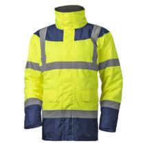 Coverguard Keta Fluo védőkabát sárga/kék - L