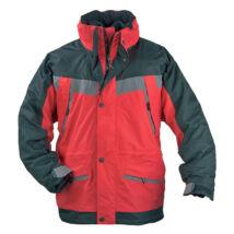 Iceberg kabát 3/1 piros/fekete - L
