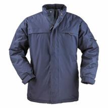 Kaban kék bélelt kabát - L