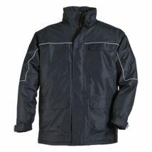 Ripstop kabát fekete - L