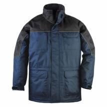 Ripstop kabát kék/fekete - L