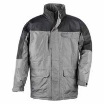 Ripstop kabát szürke/fekete - L