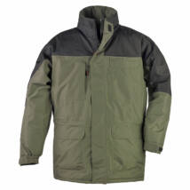 Ripstop kabát zöld/fekete - L