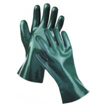 DG UNIVERSAL védőkesztyű zöld 30 cm - 7