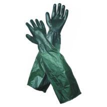 DG UNIVERSAL védőkesztyű karvédővel zöld 65 cm - 10