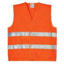 Fényvisszaverő mellény narancs - XL