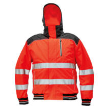 KNOXFIELD Hi-Vis pilóta dzseki piros - XS
