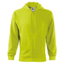 Malfini Trendy Zipper férfi kapucnis pulóver 410