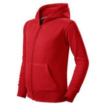 Malfini Trendy Zipper gyerek kapucnis pulóver 412