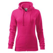 Malfini Trendy Zipper női kapucnis pulóver 411
