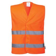 Portwest C474 Jól láthatósági mellény narancs - L/XL