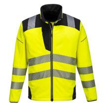 Portwest T402 Vision Hi-Vis softshell kabát sárga - L