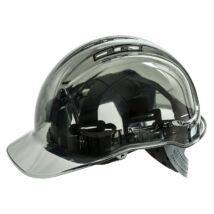 PV60 Peak View Plus átlátszó védősisak szellőző sötét