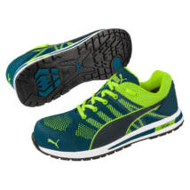 Puma Elevate Knit Green ESD cipő S1P - 40