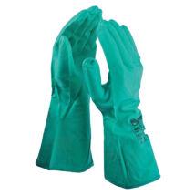 Rock NG nitril kesztyű zöld - 9