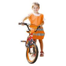 Rock FLUO gyermek mellény narancs - S