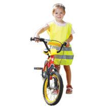 Rock FLUO gyermek mellény citrom - S
