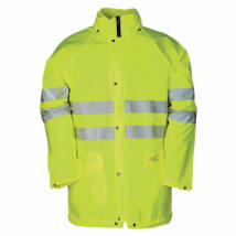 Sioen KASSEL fluo vízálló kabát sárga - S