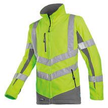 Sioen SENIC fluo polár kabát sárga/szürke - XS