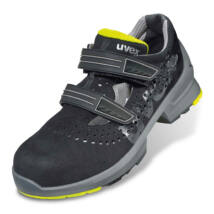Uvex 1 ESD szandál fekete/sárga S1 - 41