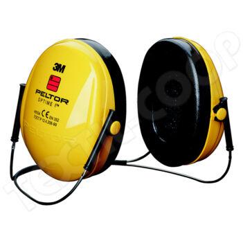 Peltor H510B Optime I fültok tarkópántos - 3M H510B-403-GU