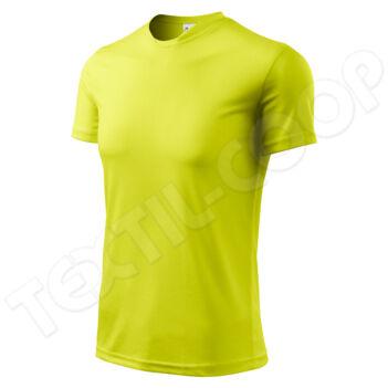 Adler póló FANTASY neon yellow 124