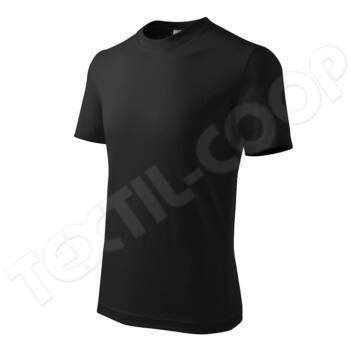 Adler pólók gyerek Classic fekete 100