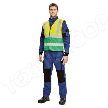 Cerva LYNX DUO mellény sárga/zöld - S