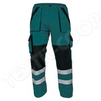 Cerva MAX REFLEX téli nadrág zöld/fekete - 54