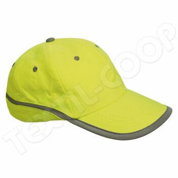 Cerva TAHR baseball sapka reflex sárga