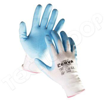 Cerva VIREO nylon nitril mártott kesztyű - 7