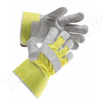 Cerva CURLEW HiVis védőkesztyű sárga 10