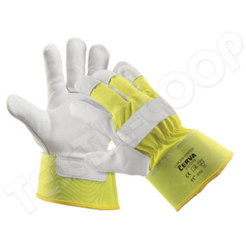 Cerva CURLEW Winter Hivis kesztyű sárga 10