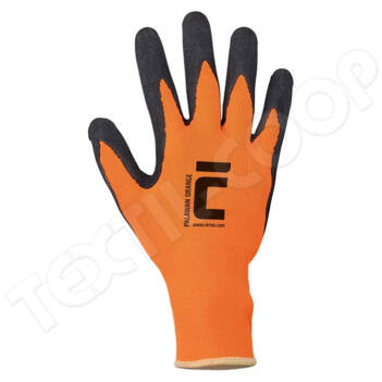 Cerva PALAWAN ORANGE kesztyű nylon/latex - 7