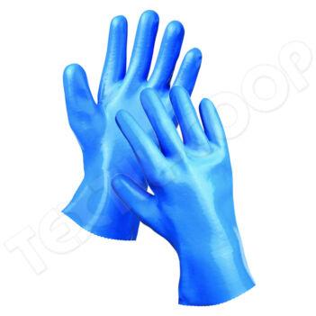 Dipped Gloves UNIVERSAL védőkesztyű kék 30 cm - 10