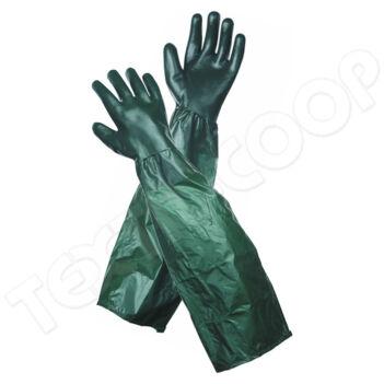 Dipped Gloves UNIVERSAL védőkesztyű karvédővel zöld 65 cm - 10
