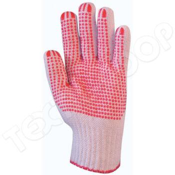 4350 textilkesztyű pes/pamut - 8